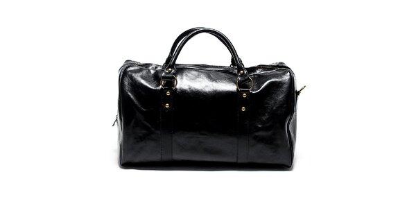 Kožené kabelky do práce i na večírek Renata Corsi. Tato kampaň již  skončila. Dámská velká černá cestovní taška Renata Corsi c81c7552e5b