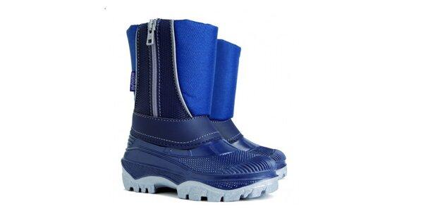 Dětské modré zimní sněhule Cristal