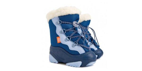 Dětské modré sněhule Snow Mar