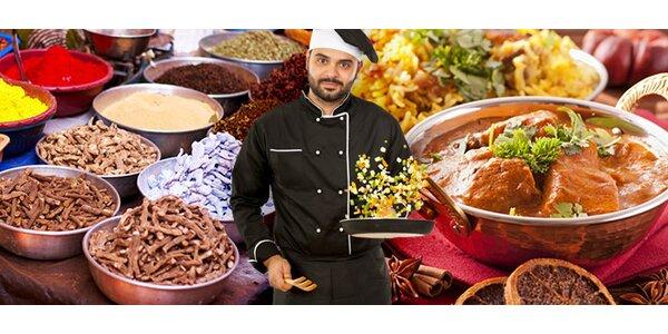 Kurz vaření indické kuchyně - 6chodové menu