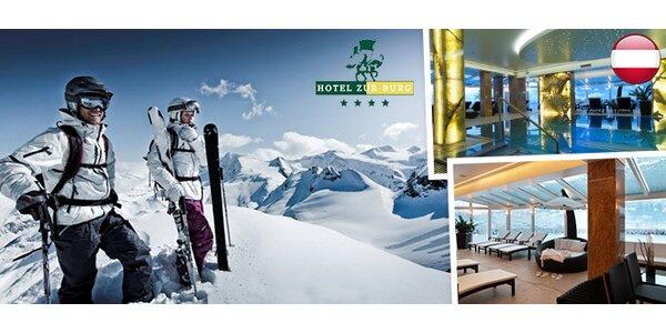 3denní lyžování a wellness v Kaprunu pro dva