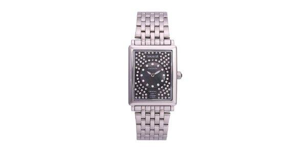 Dámské luxusní analogové ocelové hodinky Lancaster