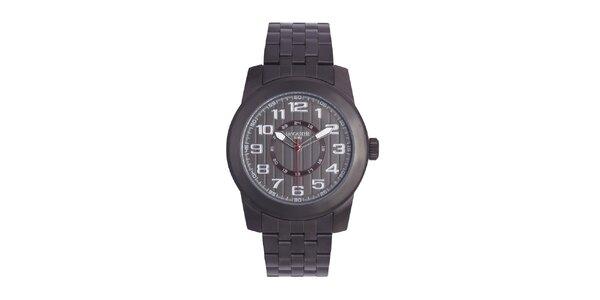 Pánské ocelové hodinky Lancaster s červenou vteřinovkou