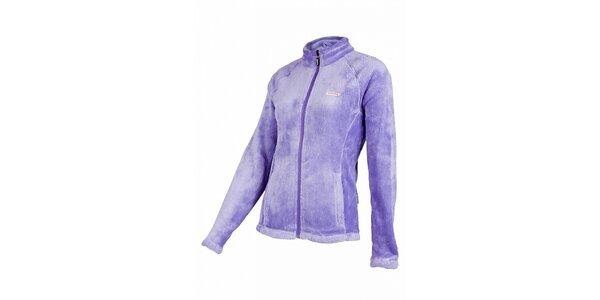 Dámská fleecová mikina Envy se stojáčkem ve fialové barvě