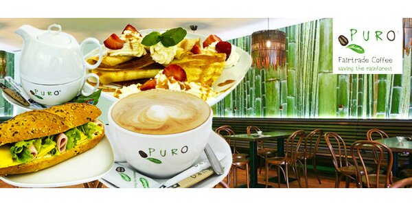 Káva, džus a svačinka v nové Fairtrade kavárně