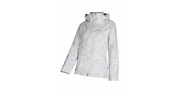 Sněhově bílá dámská lyžařská bunda značky Envy