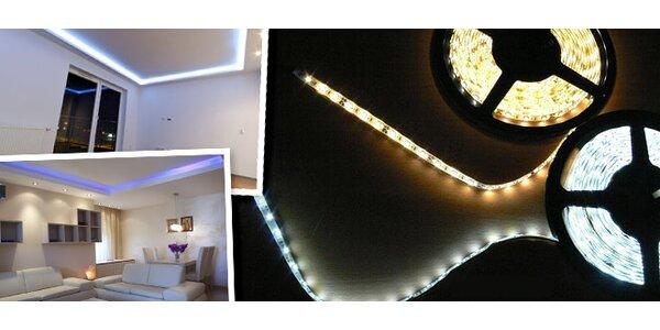 LED pásek pro osvětlení interiérů i exteriérů
