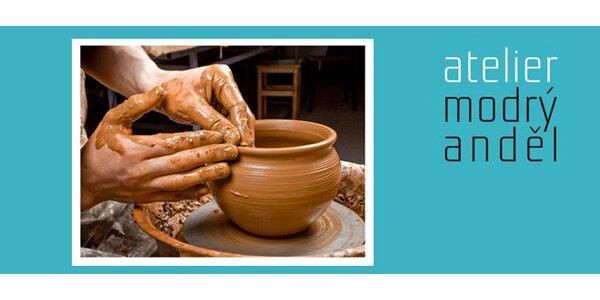 Výroba keramického hrnku a podšálku
