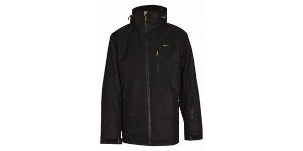 Pánská snowboardová bunda značky Envy v černé barvě