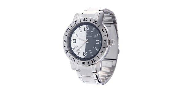 Ocelové hodinky Tom Tailor s černobílým ciferníkem