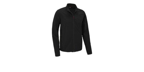 Pánská černá softshellová bunda Maier