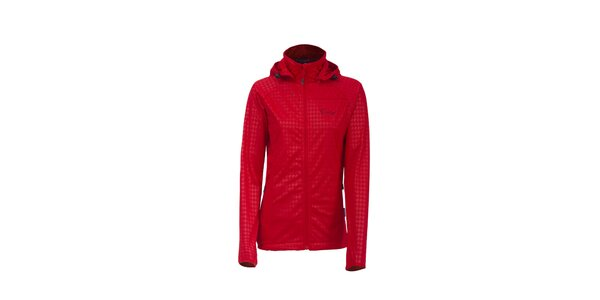 Dámská červená softshellová bunda Envy