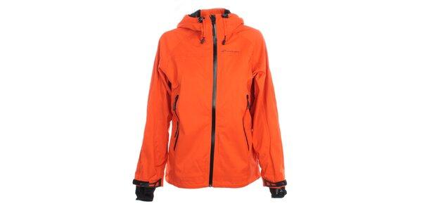 Dámská sytě oranžová funkční bunda Hannah
