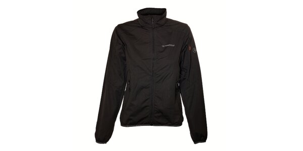 Dámská černá lehká softshellová bunda Trimm