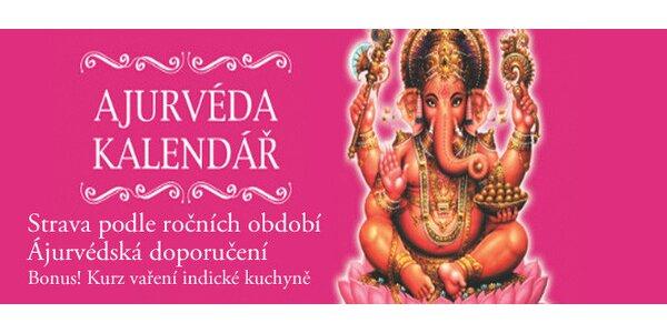 Interaktivní ajurvédský kalendář