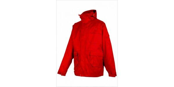 Pánská snowboardová bunda značky Envy v červené barvě