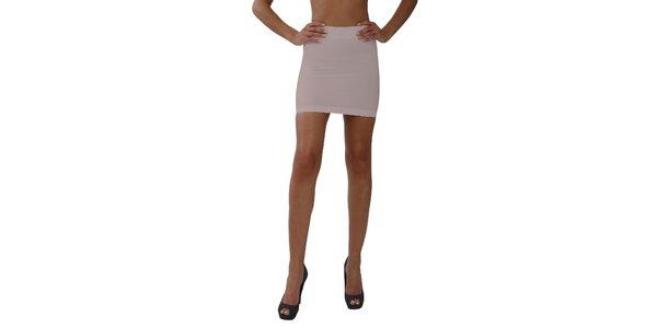 Dámská pudrová stahovací sukně My Shapes