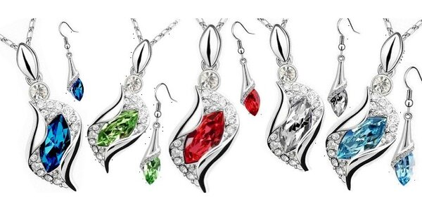 Set šperků Angel Drop z řady Swarovski Elements