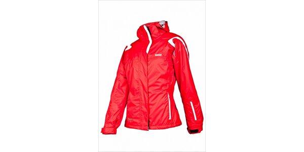 Dámská lyžařská bunda značky Envy v červené barvě