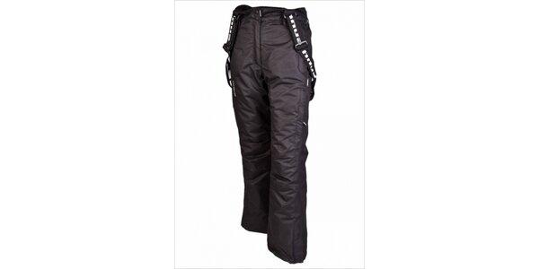 Dámské lyžařské kalhoty s odepínacími šlemi značky Envy v černé barvě