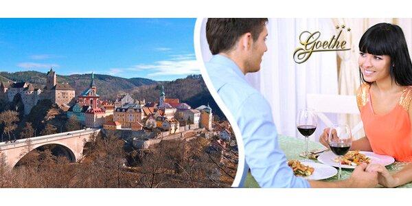 3 romantické dny pro dva u hradu Loket