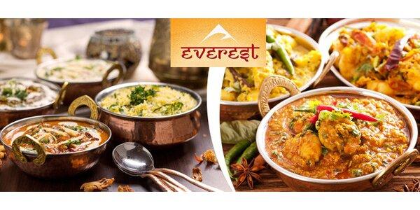 40% sleva na indické a nepálské speciality