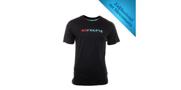 Pánské černé tričko s logem Envy