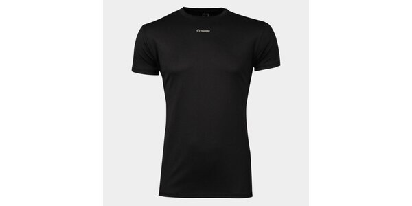 Pánské černé funkční tričko Sweep
