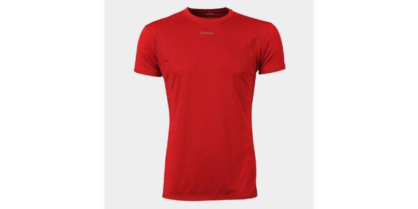 Pánské červené funkční tričko Sweep