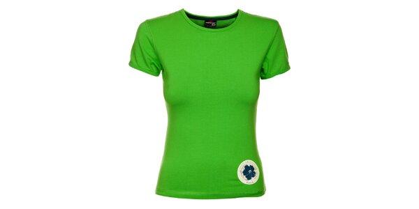 Dámské neonově zelené tričko Hannah s potiskem