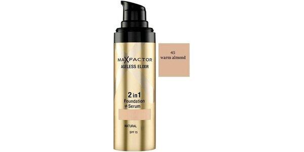Ageless Elixir 2in1 45 Warm Almond, make-up+sérum 30ml