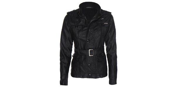Dámská motorkářská černá bunda Giorgio di Mare