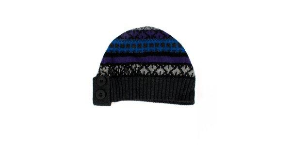 Dámská barevná pletená čepice Nolita