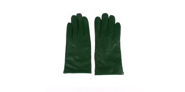Dámské zelené rukavice Nolita