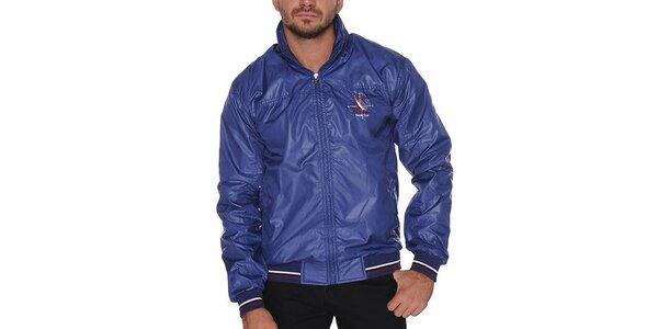 Pánská modrá bunda s kapucí Giorgio di Mare