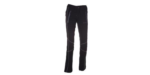 Dámské černé sportovní kalhoty se švy Envy