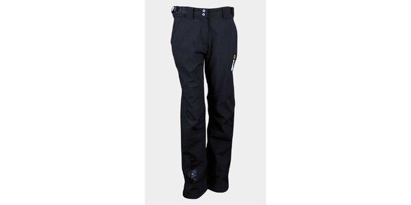Dámské černé softshellové kalhoty Sweep s membránou