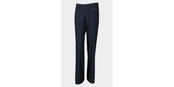 Dámské dlouhé černé elastické kalhoty Sweep
