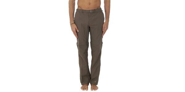 Pánské hnědé sportovní kalhoty Columbia s odepínacími nohavicemi