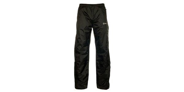 Pánské černé šusťákové kalhoty Loap