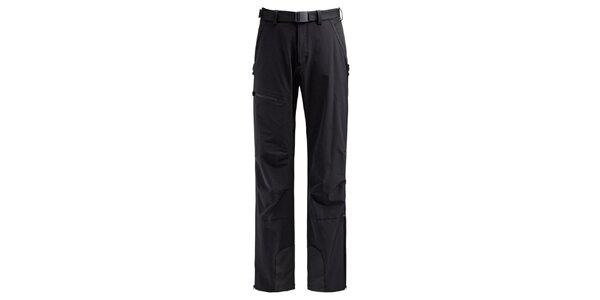 Pánské černé softshellové kalhoty Maier