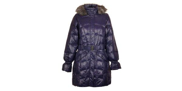 Dámský tmavě modrý péřový kabát Northland