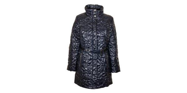Dámský tmavě modrý prošívaný kabát Northland