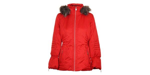 Dámská červená péřová bunda Northland