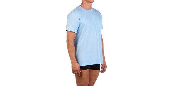 Pánské světle modré casual tričko Calvin Klein