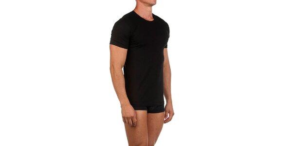 Pánské černé casual tričko Calvin Klein