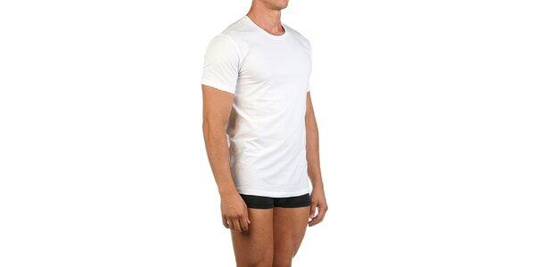Pánské bílé casual tričko Calvin Klein