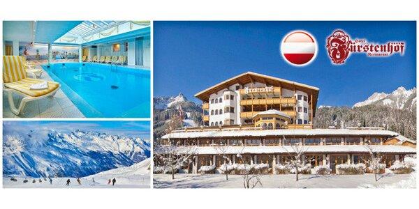 Až 6 dní v luxusním alpském spa hotelu pro dva