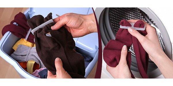 20 ks sponek na ponožky - konec lichých ponožek
