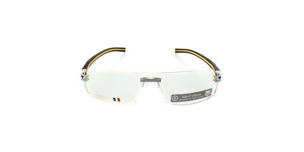 Designové žluto-černé brýle Tag Heuer s technologií Night Vision